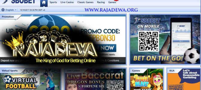 Video Tutorial Cara Login Sbobet RajaDewa